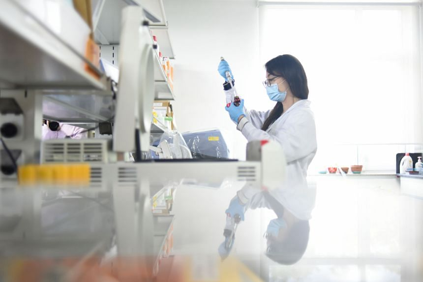 A drug being tested by scientists at China's Peking University offers short-term immunity from the virus.
