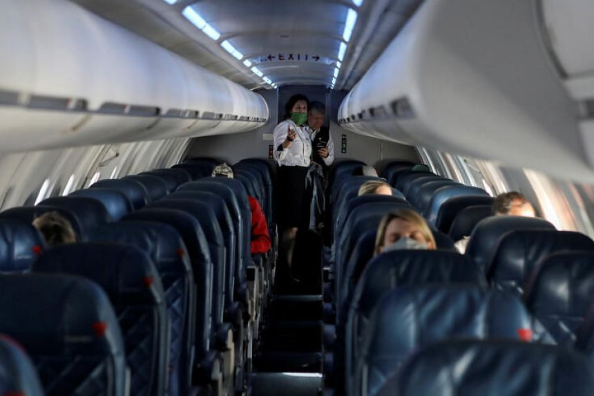 On a modern jet aircraft, air is exchanged about 20 to 30 times every hour.