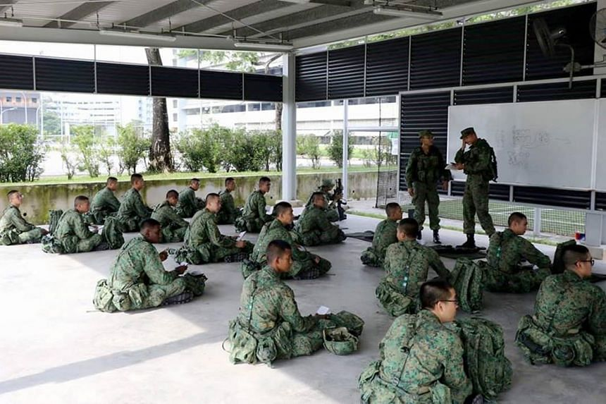 About 6,300 military recruits will be informed of their reporting dates.
