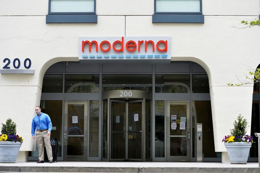 Moderna priced a stock offering to fund manufacturing of its coronavirus vaccine at US$76 a share.