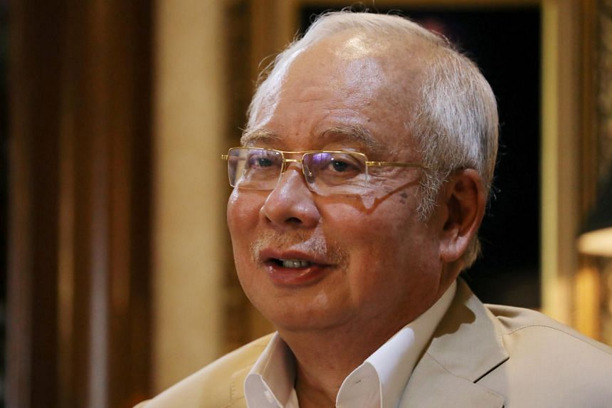 Former leader Najib Razak has repeatedly said he plans to go through the court process to clear his name.