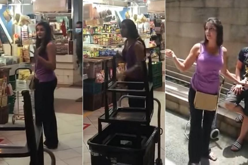 Paramjeet Kaur made headlines after a video clip circulated online in which she was seen not wearing a mask at Shunfu Mart.