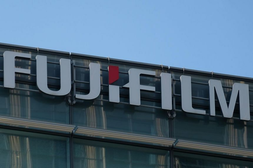 Fujifilm Holdings' shares were down 3 per cent in morning trade.