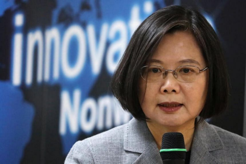 Ms Tsai Ing-wen has benefited from an upswing of support from the US and its allies.