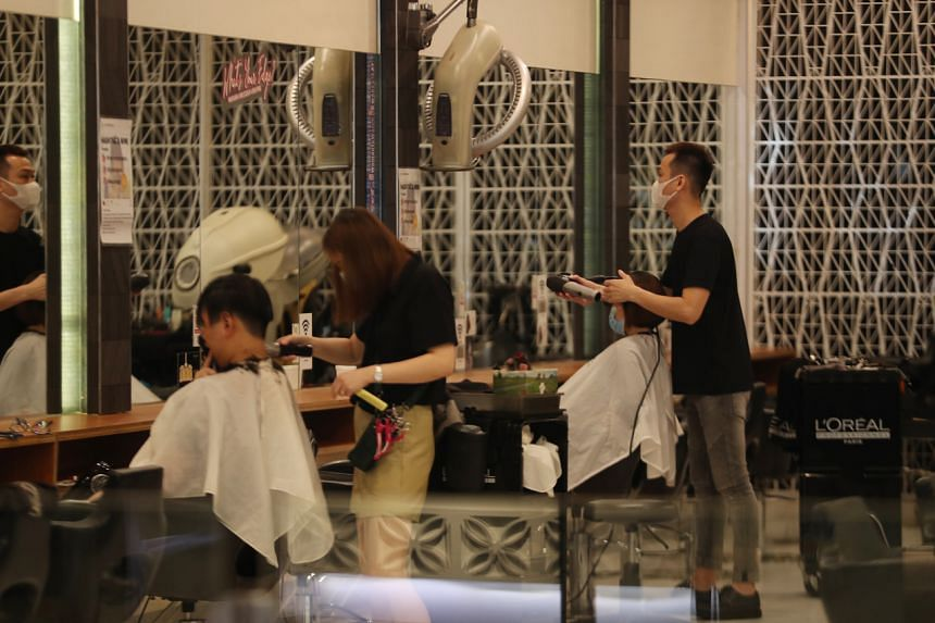 Hair salons will continue operations while following the appropriate safety guidelines during this circuit breaker period, on May 13, 2020.