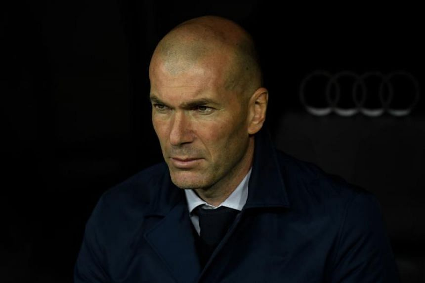 Zinedine Zidane led Real Madrid to three Champions League titles in his first tenure at the helm of the club.