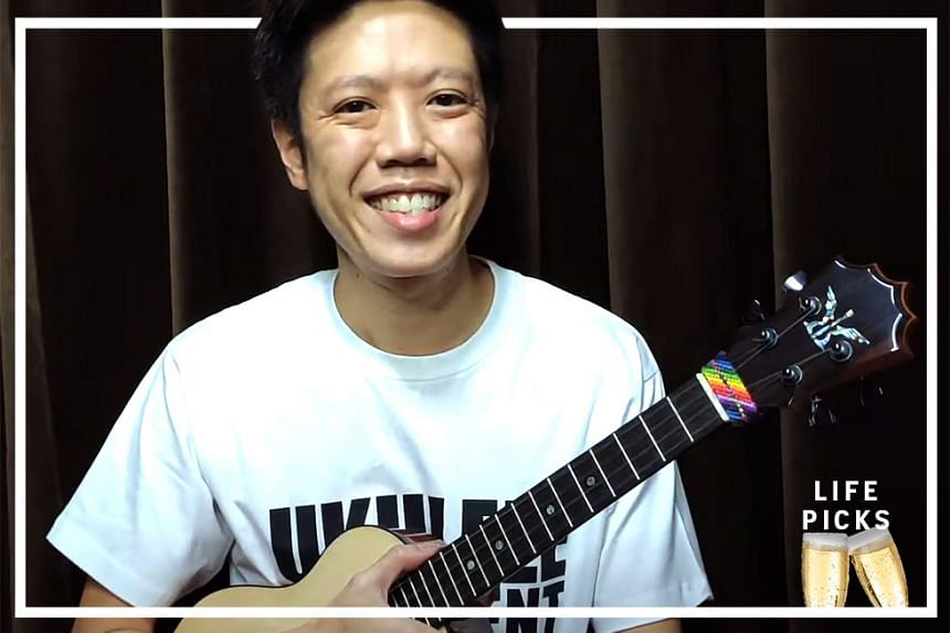 Alan Soo,  ukulele artiste and instructor, shares with us how to catch free ukulele livestreams and open mic online conferences during this circuit breaker period.