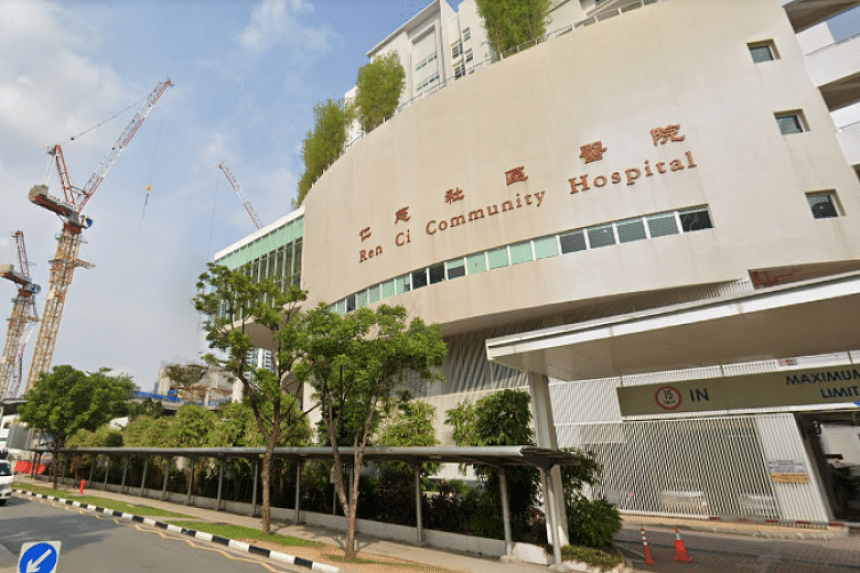 A 30-year-old nurse at Ren Ci Community Hospital tested positive and is currently warded at NCID.