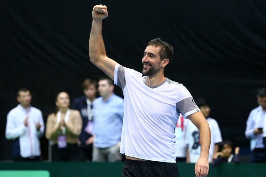 Marin Cilic made the final at Wimbledon in 2017.
