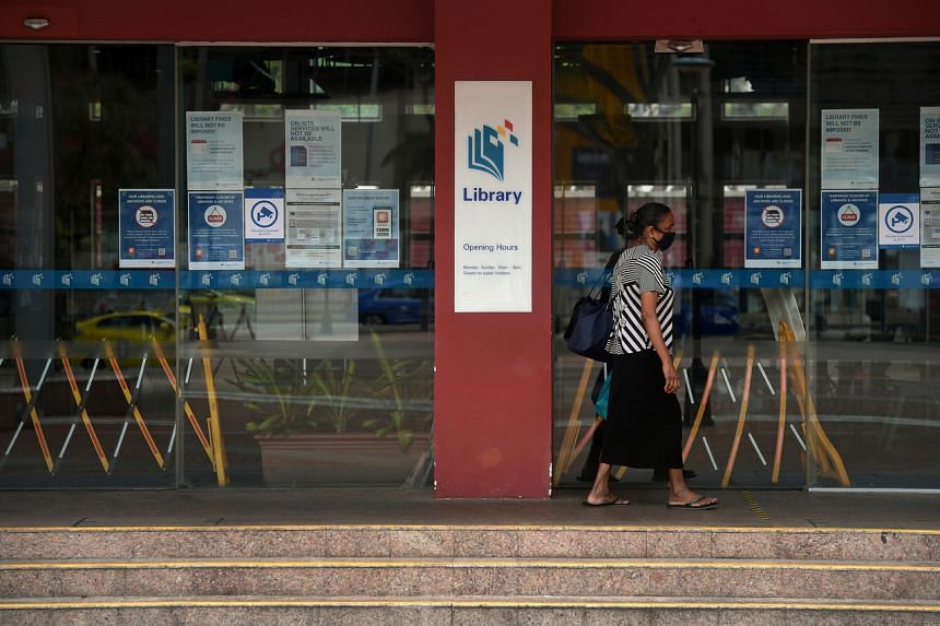 The National Library Board issued a statement to say libraries will also remain closed till further notice.