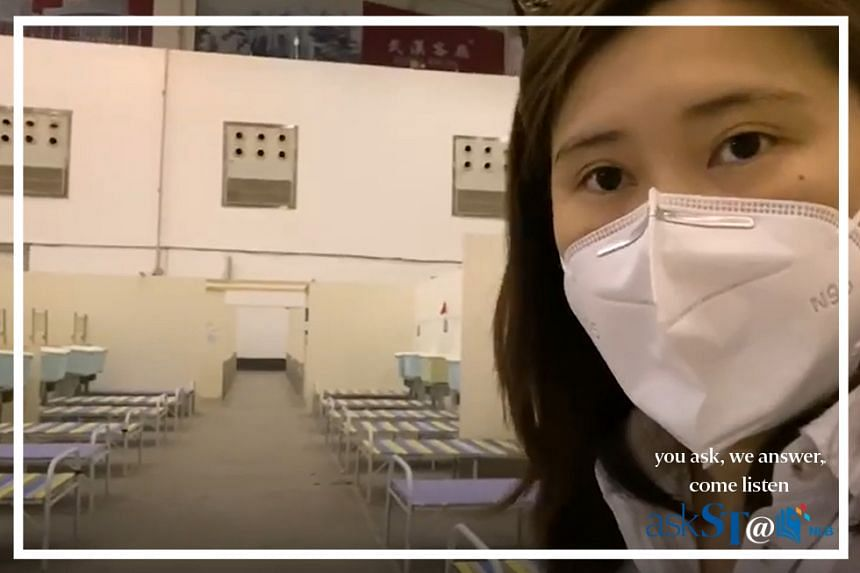 ST correspondent Elizabeth Law in Wuhan. Ms Law, who was in the city at the outset of the outbreak there, went back there after the lockdown was lifted.