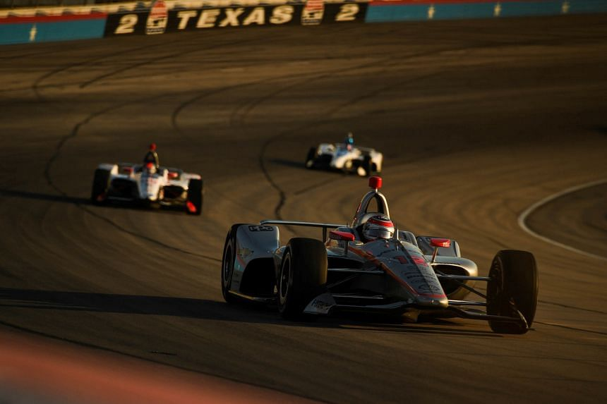 The IndyCar season is scheduled to open on June 6 at Texas Motor Speedway.