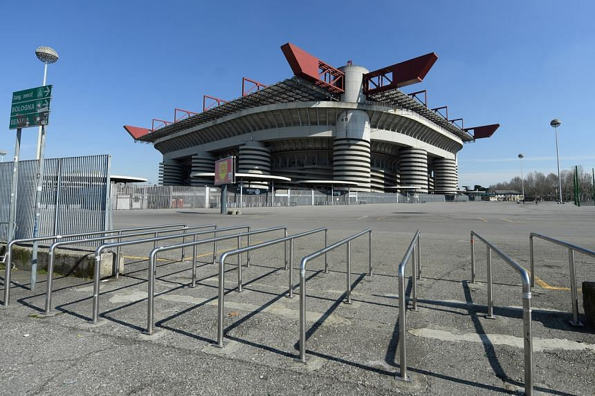 Only a small remnant of the oldest part of the San Siro arena, built in 1926, is left.