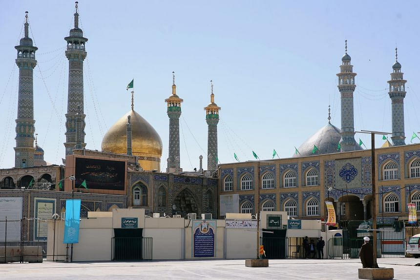 Iran's Shrine of Fatima Masumeh has been closed due to the outbreak.
