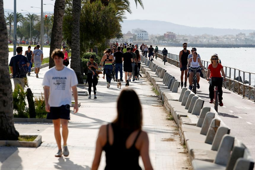 Foreign visitors contribute around an eighth of Spain's economic output and the government curbs.