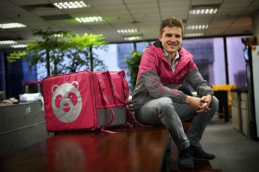 Mr Luc Andreani, managing director of foodpanda Singapore, says the company remains mindful of segments in the community that are more vulnerable to the impact of Covid-19, such as hawkers and migrant workers.