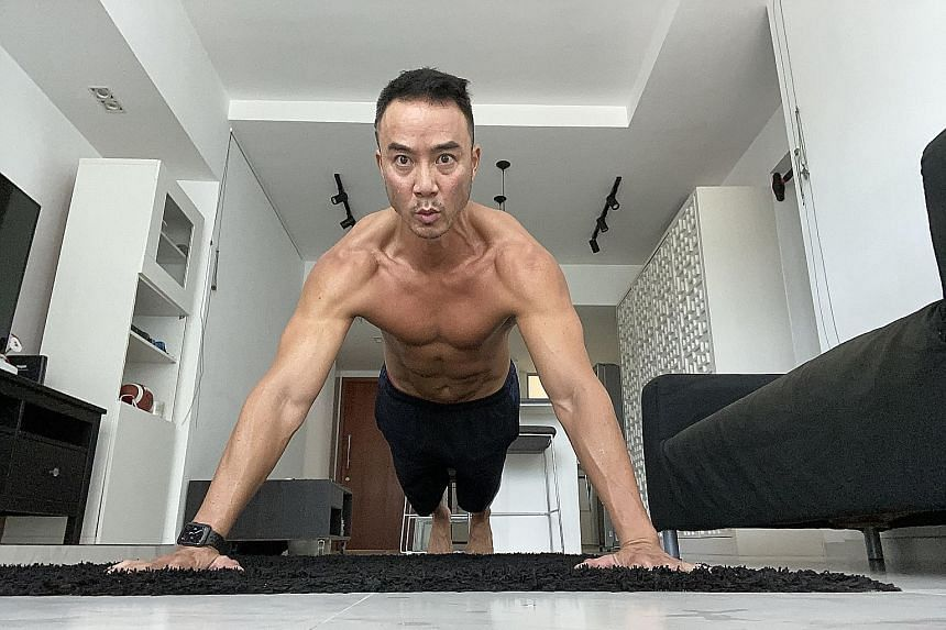Actor and host Allan Wu recently did 450 push-ups in a single day as part of his #Plus10 challenge.