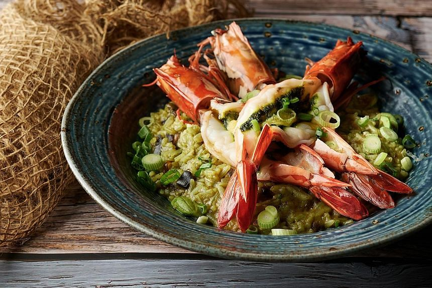 South-east Asian restaurant Laut, which opened last month in Stanley Street, serves dishes such as thunder tea rice.