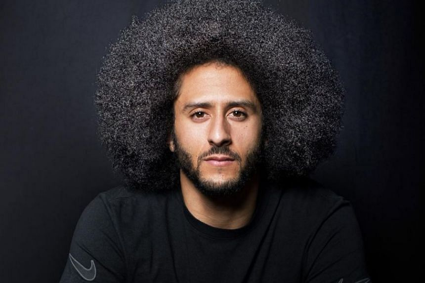 Colin Kaepernick in a photo from his Instagram page.