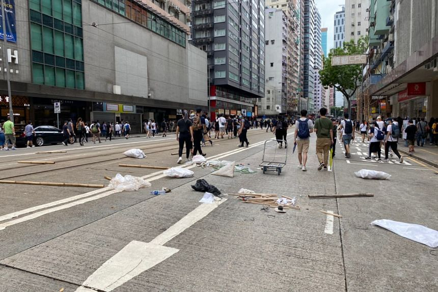 Along Hennessy road, sights common last year makes reappearance on May 24, 2020.