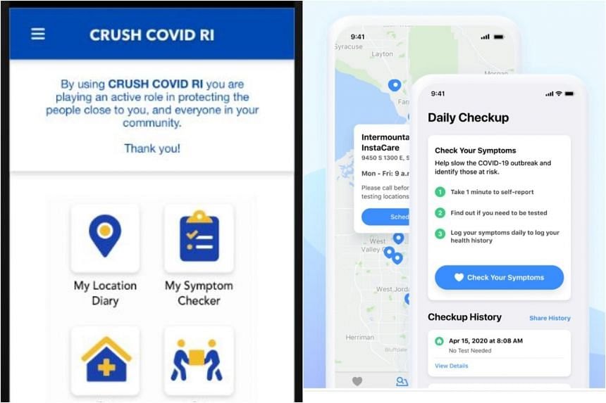 "Several US states are launching their own apps without Google and Apple, such as Rhode Island's ""Crush Covid"" and Utah's Healthy Together app."