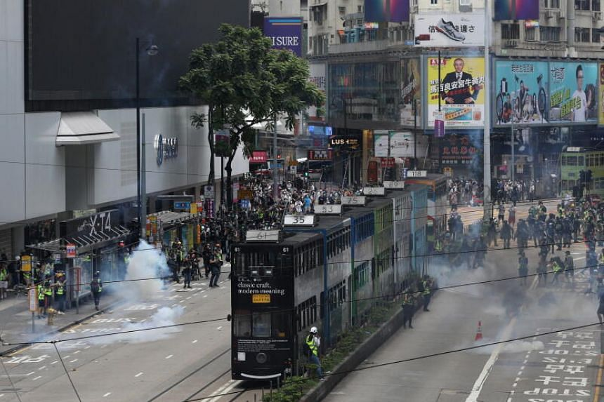 Hong Kong has been rocked by protests since June 2019.