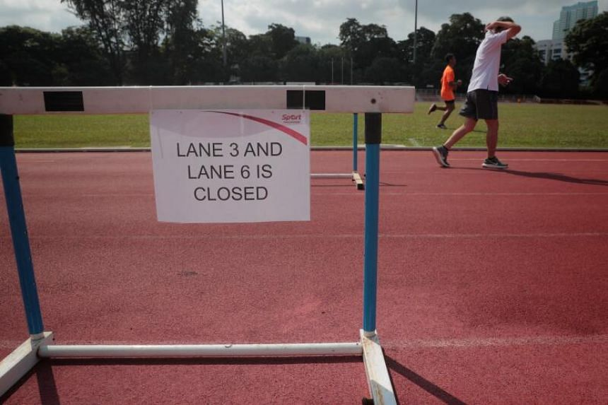 Sports facilities will gradually be allowed to reopen in Phase 2.