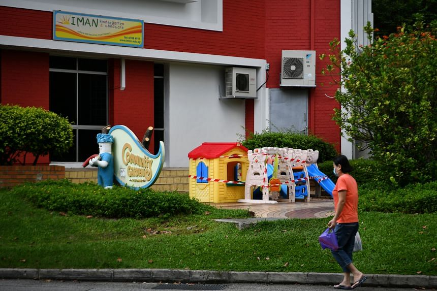 The 33-year-old woman worked at Iman Childcare (Tampines).