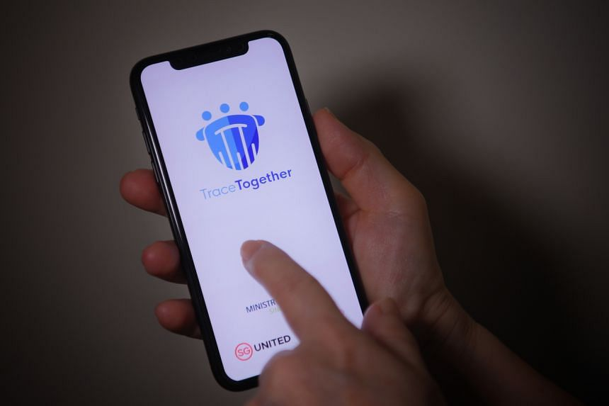 About 25 per cent of Singapore residents have downloaded the TraceTogether app.