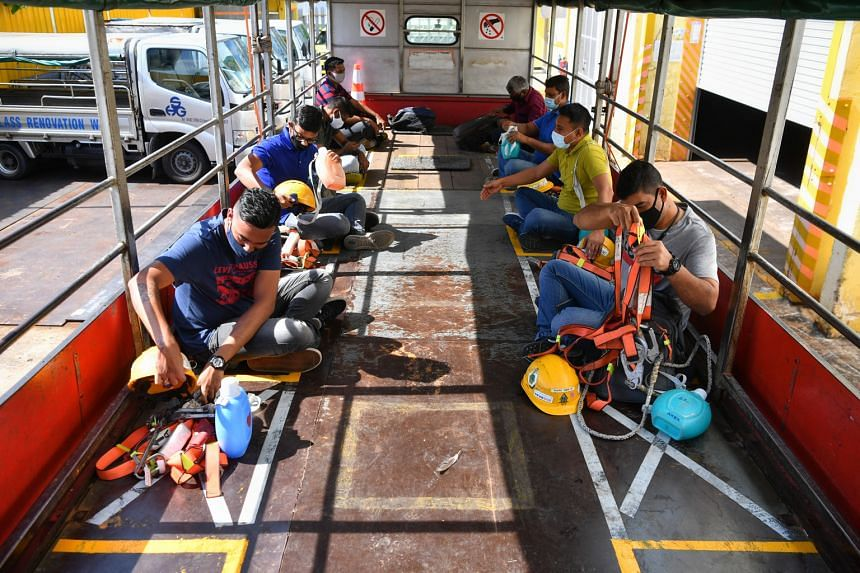 Wee Chwee Huat, which houses about 120 of its workers in a factory-converted dormitory, along with some from other firms, will also be taking steps to reduce the density in the dormitory, such as by allowing just one worker to occupy a bunk bed. Wee