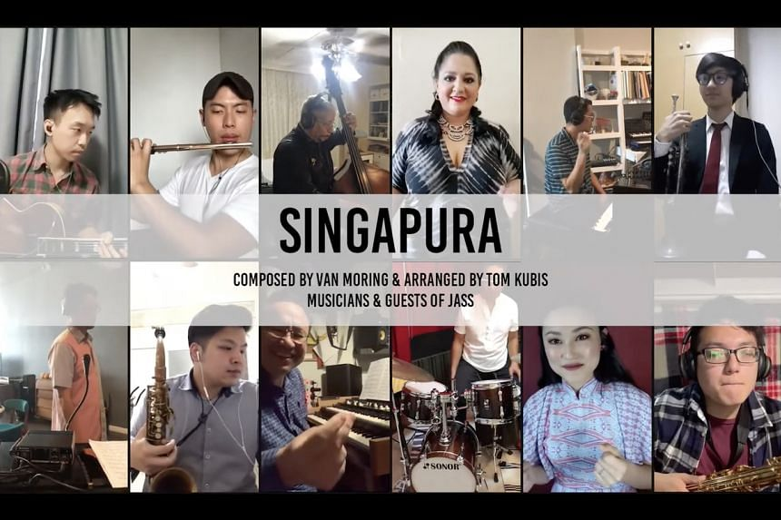 One project to benefit from the grant was an online concert by the Jazz Association (Singapore).