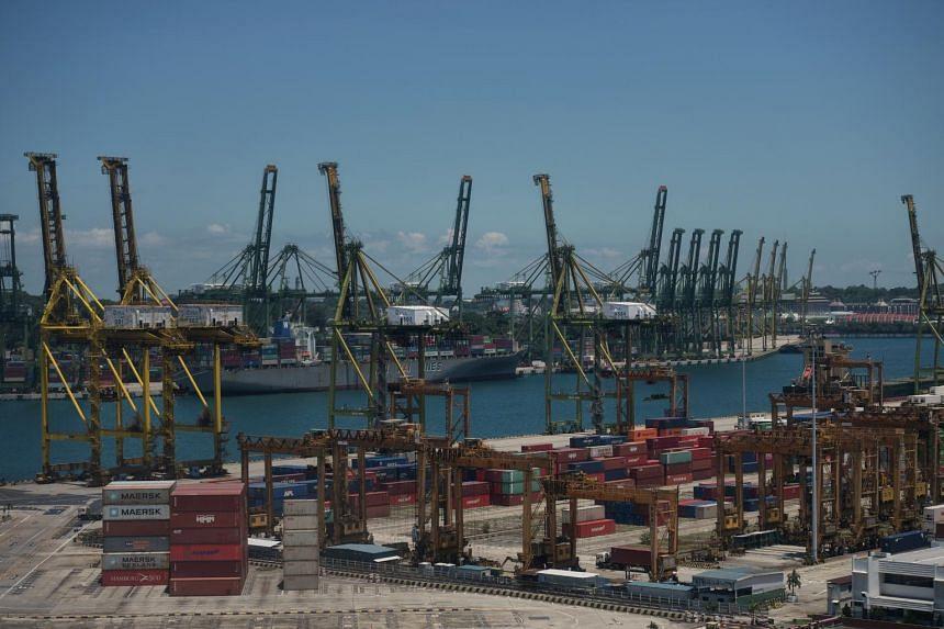 Shipments to China, Hong Kong, Malaysia and Indonesia fell.
