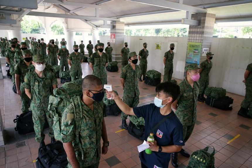 About 1,500 recruits were to report back for duty on May 26.