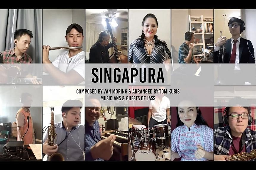An online concert by the Jazz Association (Singapore) aired on Facebook and YouTube last month, and was one of the projects that benefited from the Digital Presentation Grant for the Arts.