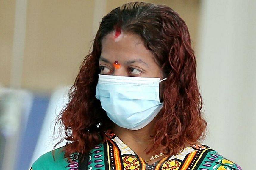 Rajalakshmi Sukomaran, 36, was slapped with seven more charges under the Covid-19 (Temporary Measures) Act.