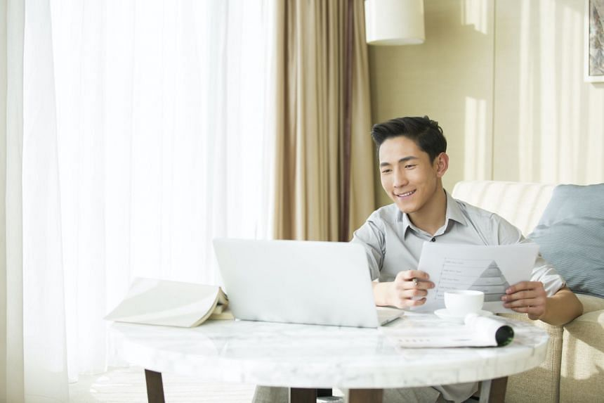 Employers can allow employees to go to the office only if there is no alternative and it is demonstrably necessary. Otherwise, telecommuting, or working from home, must continue to be the default mode of working. PHOTO: GETTY IMAGES