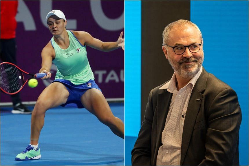 "Rob Barty said his daughter had been ""sad all the time"" and was not herself on the court."
