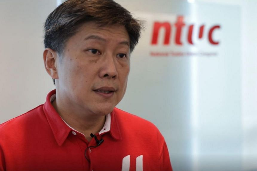 Labour chief Ng Chee Meng underlined NTUC's intensified effort to help at-risk workers.