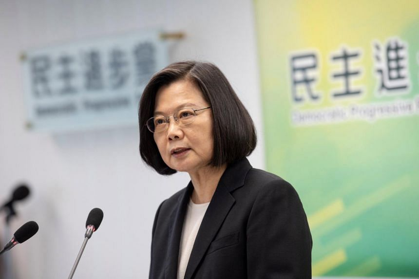 Taiwanese President Tsai Ing-wen did not give full details or timing.
