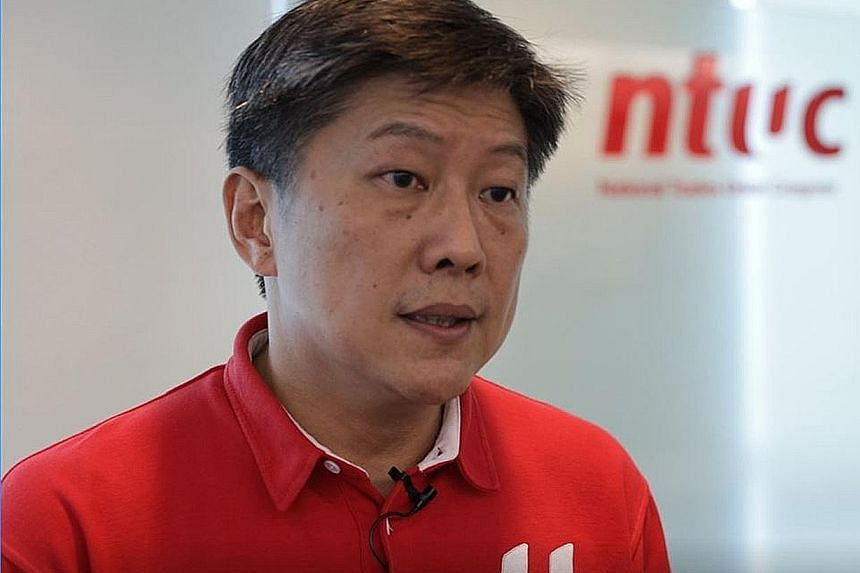Labour Chief Ng Chee Meng.