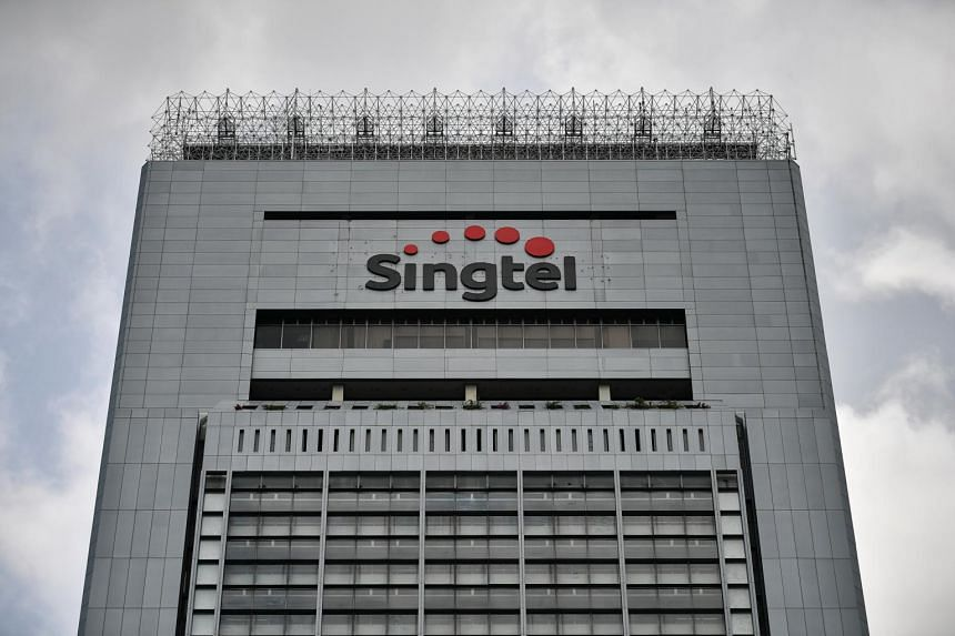 Singtel's earnings per share stood at 3.52 cents for the quarter.