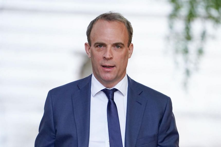 British Foreign Secretary Dominic Raab made the comments  in an interview reported by the BBC.