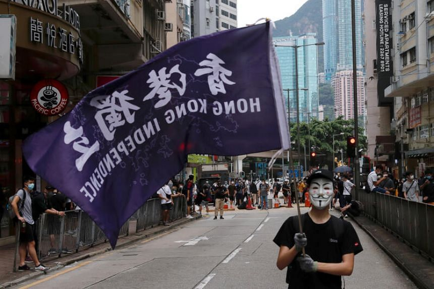 The US move, expected to be temporary, will give Beijing a chance to adjust its approach to Hong Kong, said Demosisto.