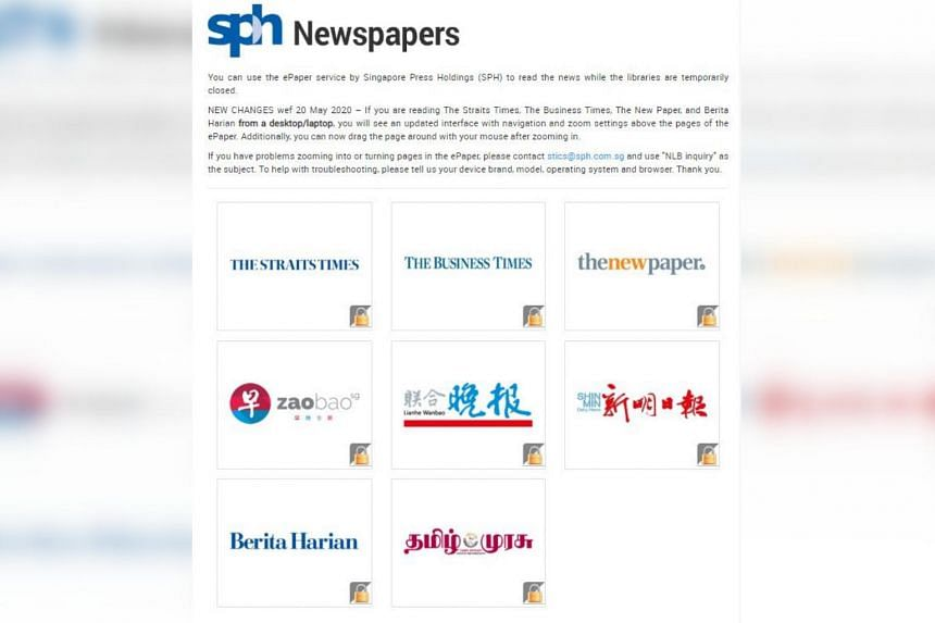 The extension of the free access was prompted by the popularity of these digital newspapers among library patrons.