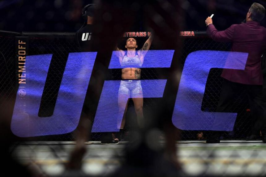 UFC fighters would be tested upon arrival in Las Vegas and again after weighing in on the eve of the event.