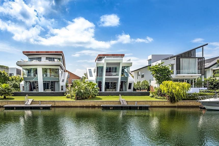 Mr David Yong, chief executive of Evergreen Assets Management and managing partner of YSL Legal, at his family home in Goodman Road. The bachelor has been shopping for his next home at Sentosa Cove since the start of the year, armed with a budget of