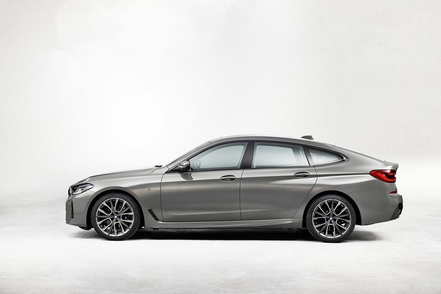 """The BMW 6-series Gran Turismo comes with a 48-volt """"mild hybrid"""" system said to improve efficiency and better starting response."""