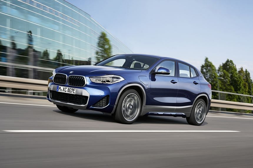 The BMW X2 now comes with a plug-in hybrid variant.
