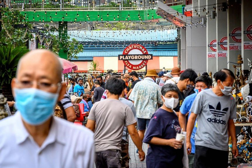 Thailand began this month to gradually ease some restrictions introduced to contain the virus.