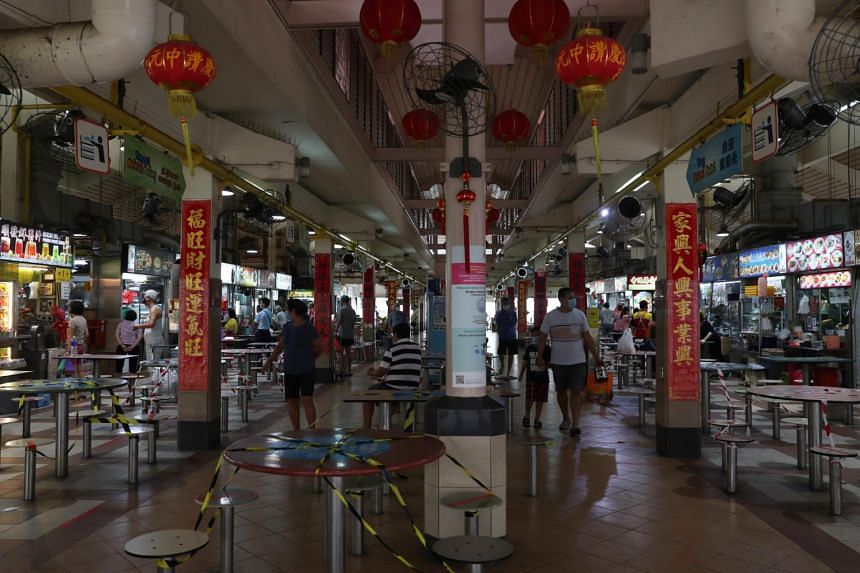 The relief, totalling nearly $3 million, will help to cushion the economic impact of the pandemic on shop operators and hawkers.